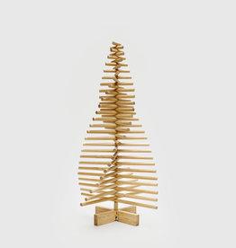 Houten Kerstboom ronde takken