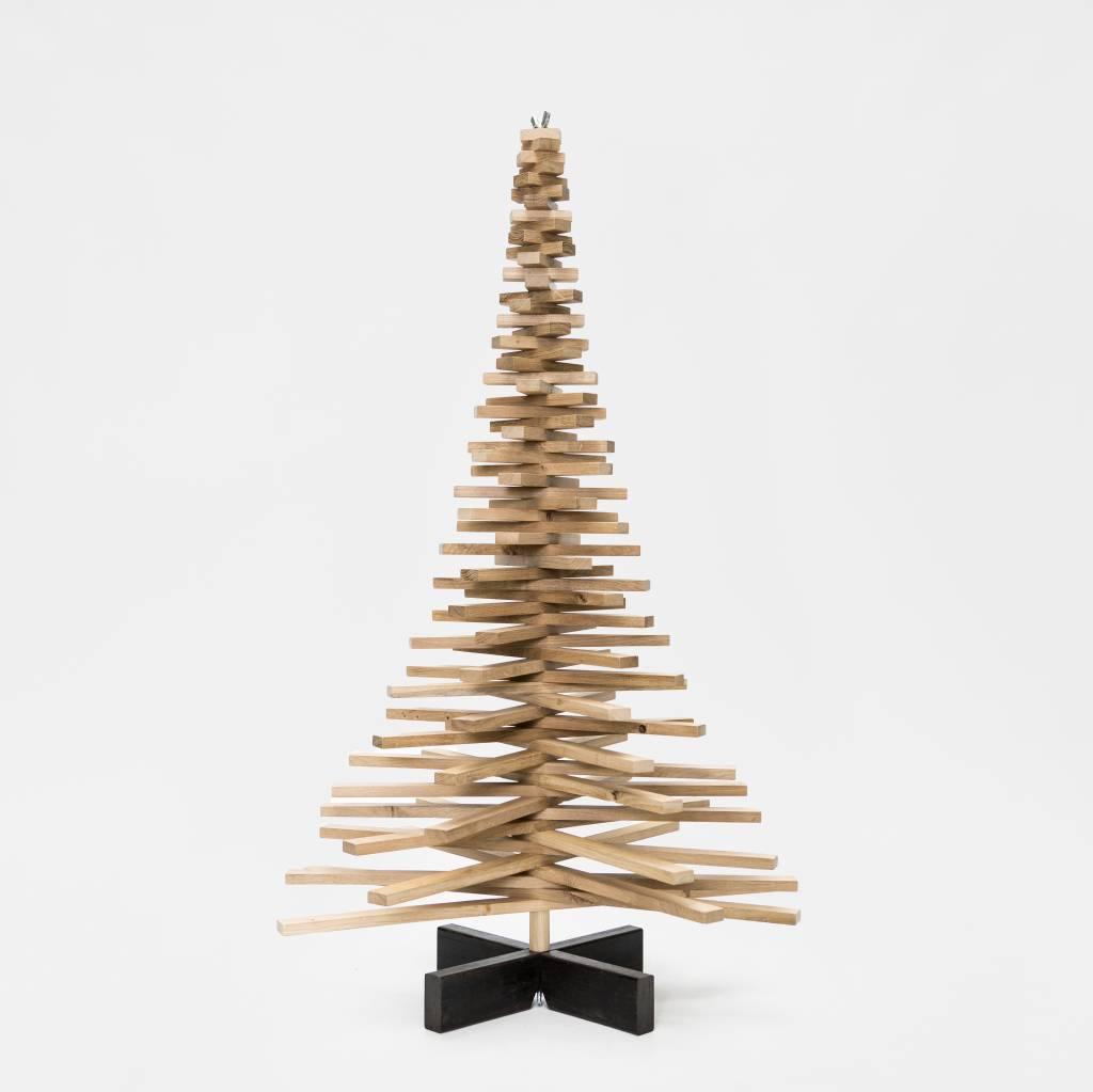 Houten kerstboom eiken 200 cm