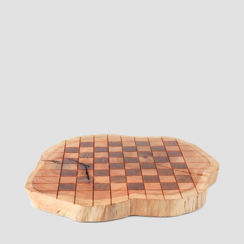 Schaakbord ceder