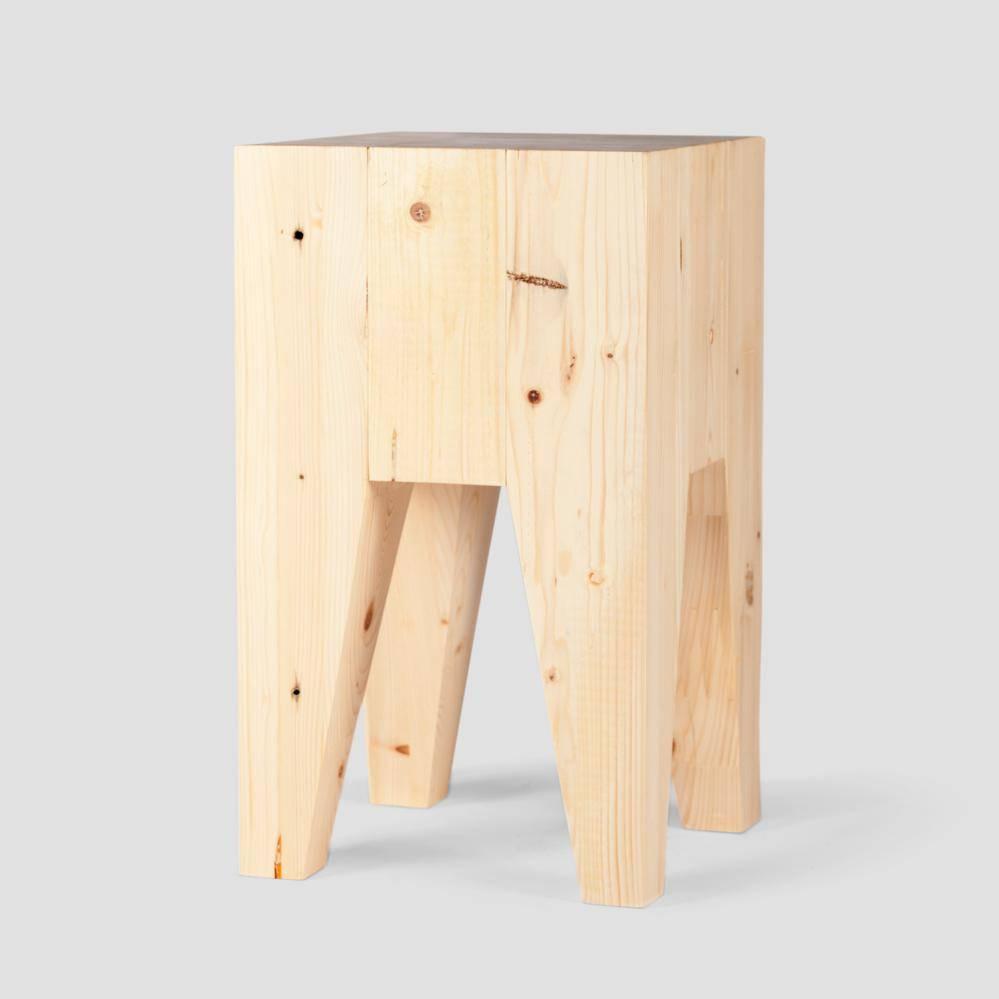 Kruk sloophout grenen