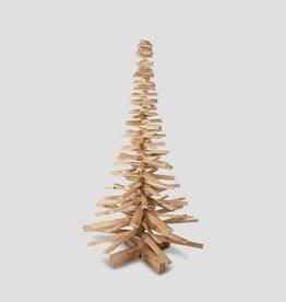Houten kerstboom kersenhout