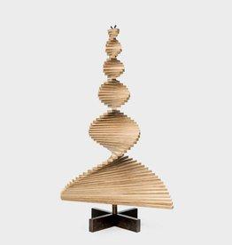 Houten kerstboom bamboe N-finity