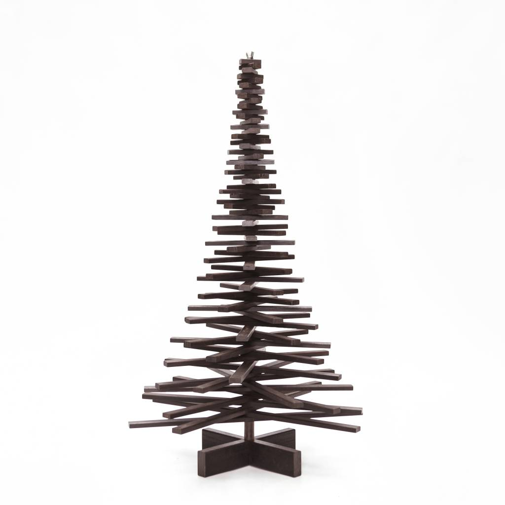 Houten kerstboom bamboe Extreme
