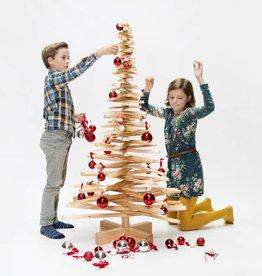 Houten kerstboom Europese vogelkers