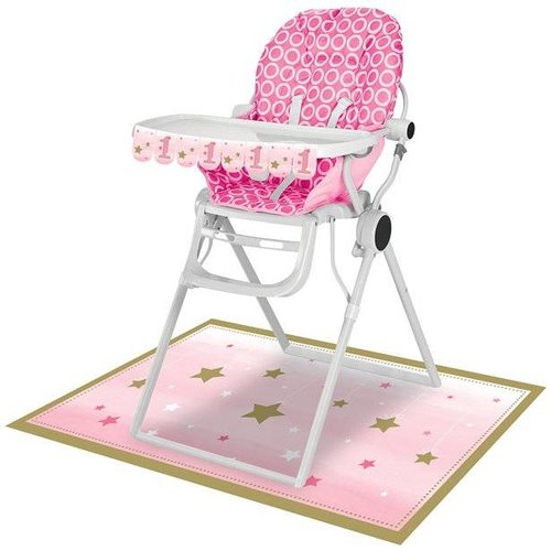 One little star: kinderstoel versiering