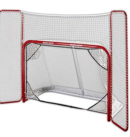 "Bauer Hockey Steel Goal 72"" with Backstop"