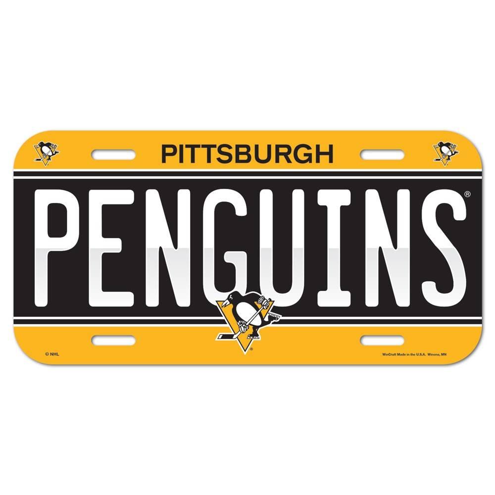 NHL NHL License Plate