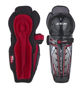 CCM Jetspeed FT370 Shin Guards (JR)