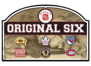 NHL Wood Sign