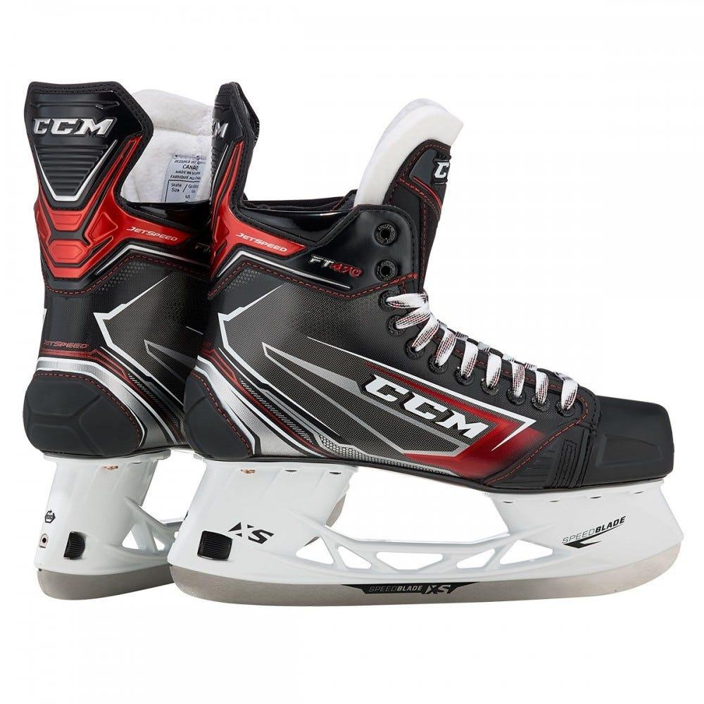 CCM Jetspeed FT470 Skates (JR)