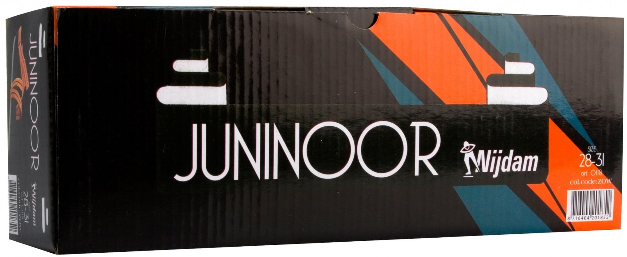 Nijdam Nijdam Glij-ijzer JuniNoor 0118 junior zwart