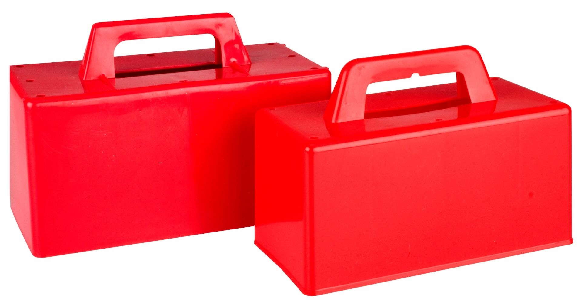 Schreuders Sport Zandkasteel/Iglomaker rood 2 stuks