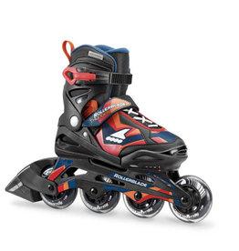 Rollerblade Thunder XC Zwart Rood