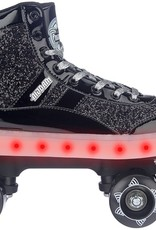 Nijdam 52TA Roller Skates Flashing Gliter and Glamour