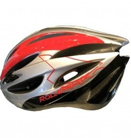 Rollerblade Performance Helmet Silver/Red