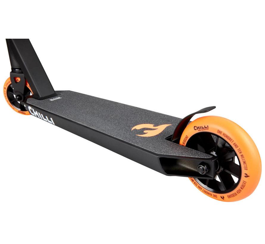 Chilli Stuntstep BASE Rocky Black/Orange 110 mm