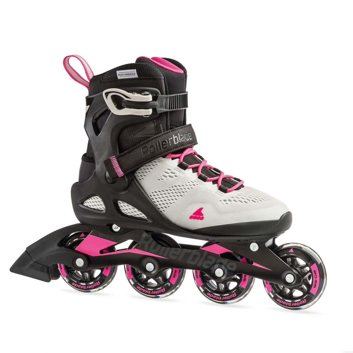 Rollerblade Macroblade 80 W Cool-grey/Candy-pink