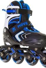 Move Arrow Inlineskates zwart - blauw