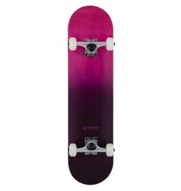 Rocket Rocket Complete Skateboard Double Dipped Purple