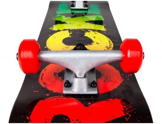 Rocket Rocket Complete Skateboard Rasta Fade