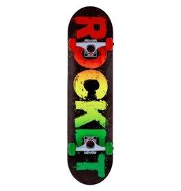 Rocket Complete Skateboard Rasta Fade