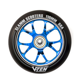 Slamm Slamm V-Ten II Wheel 110mm Blue