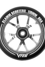 Slamm Slamm V-Ten II Wheel 110mm Titanium
