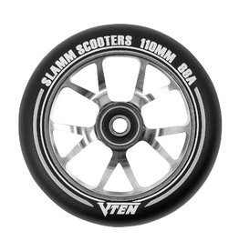 Slamm Slamm V-Ten II Wheel 110mm Titanium