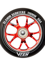 Slamm Slamm V-Ten II Wheel 110mm Red