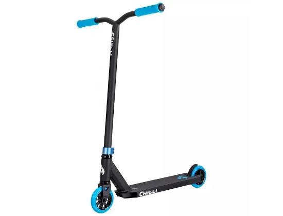 Chilli Stuntstep BASE Rocky Black/Blue 110 mm