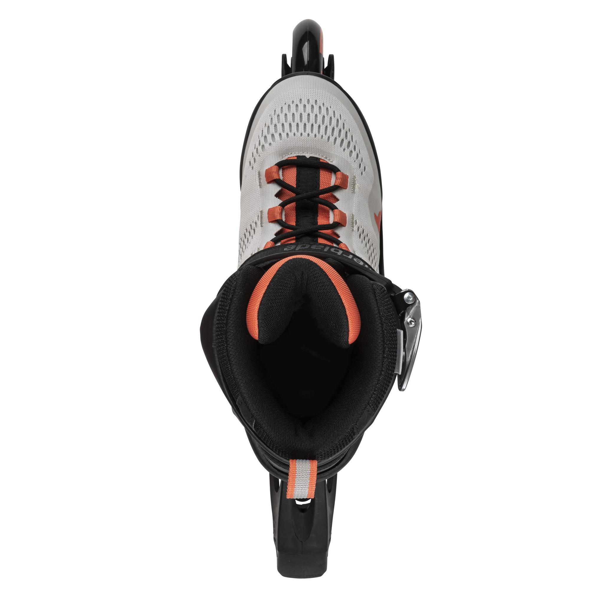 Rollerblade Macroblade 80 Glacier-Grey / Coral