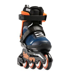 Rollerblade Microblade Midnight-Blue / Warm-Orange