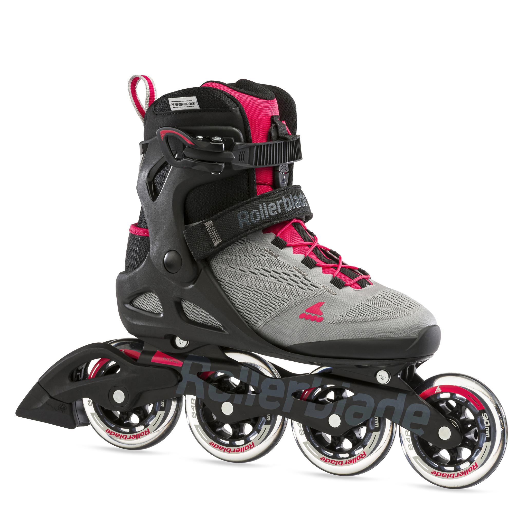 Rollerblade Macroblade 90 W Neutral-Grey / Paradise-Pink