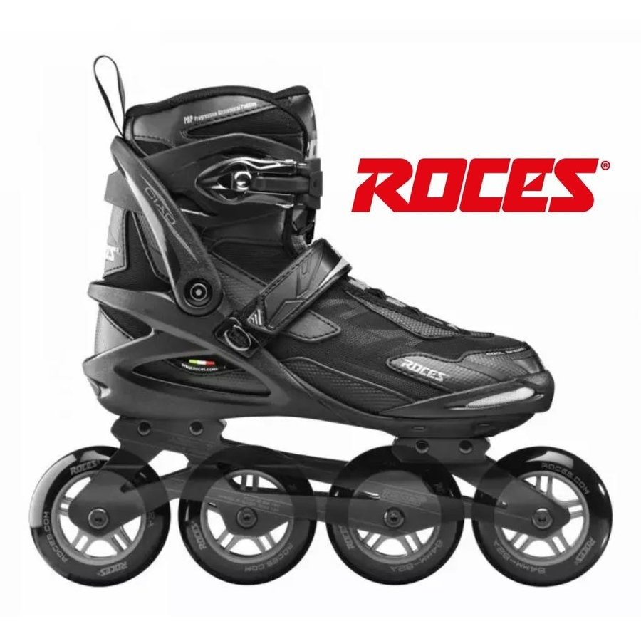 Roces ROCES Inlineskates CIAO 80 Black/Charcoal