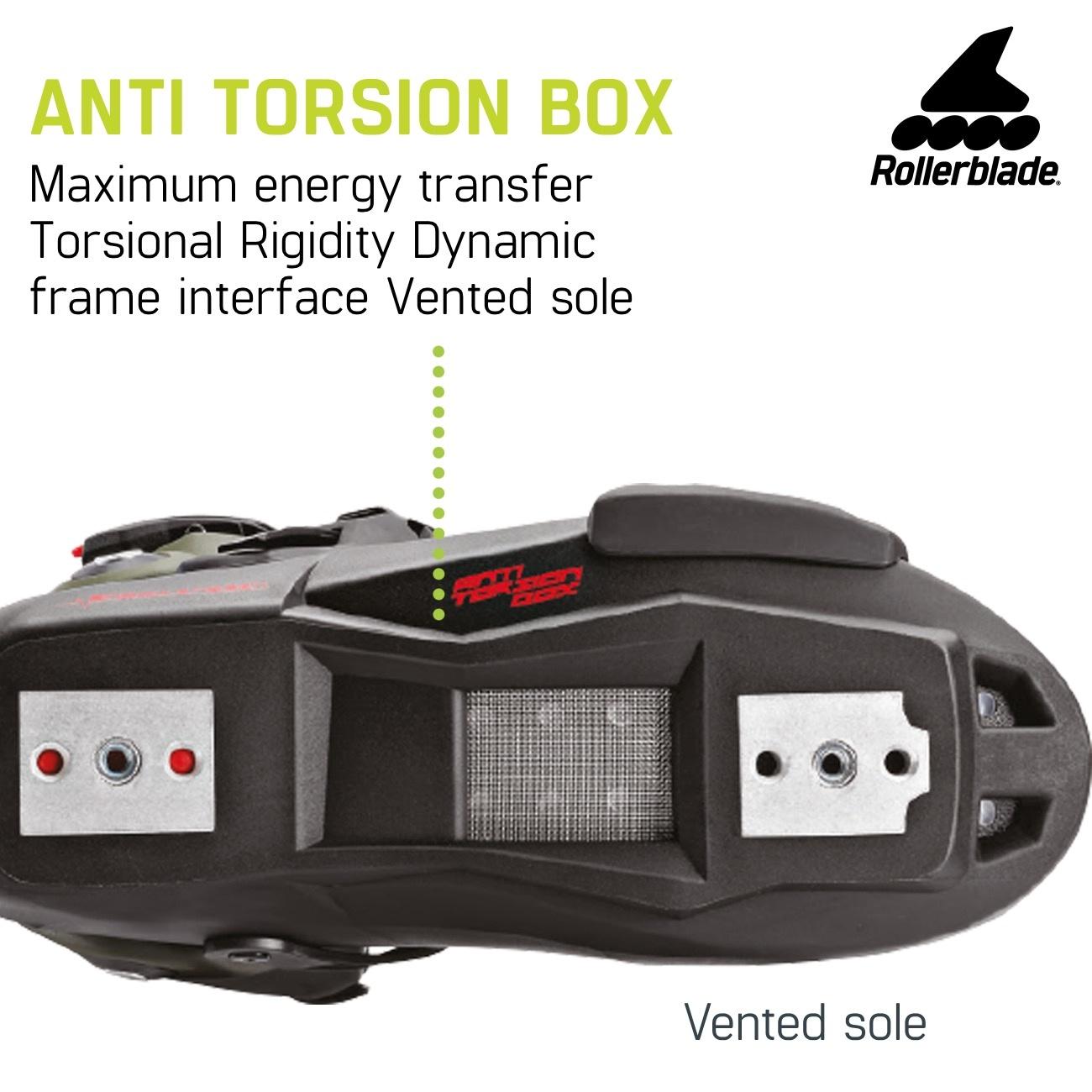 Rollerblade Twister Edge 110 3WD Black/Sand