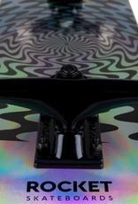Rocket Rocket Complete Skateboard Warp Foil