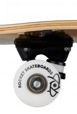 Rocket Rocket Complete Skateboard Twisted Foil Gold