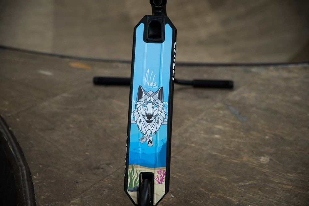 Chilli Chilli Pro Scooter Archie Cole Wit - 110mm