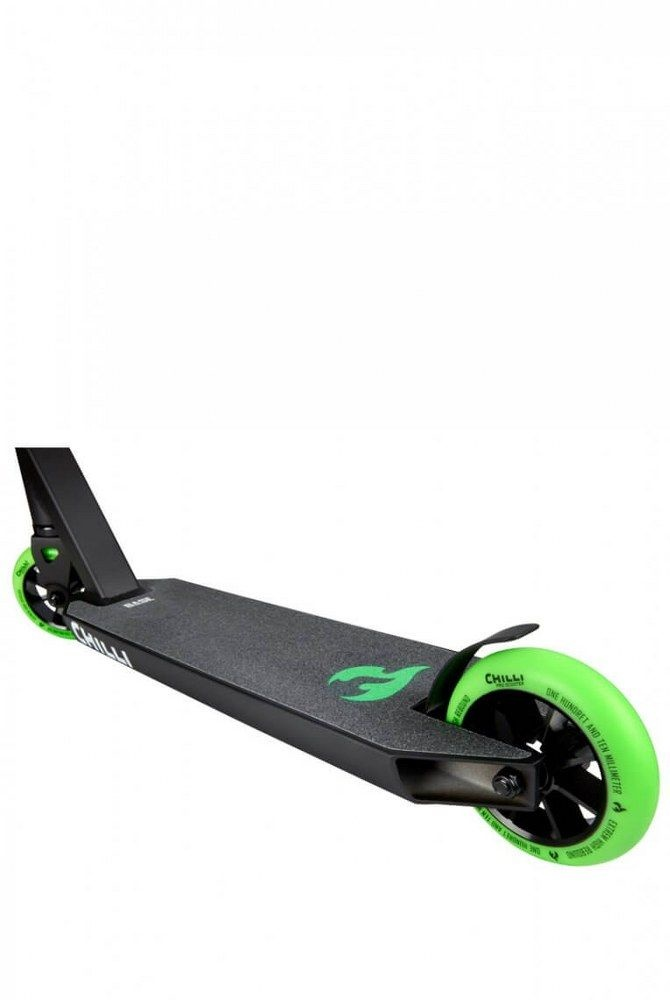 Chilli Chilli Stuntstep BASE Rocky Black/Green 110 mm