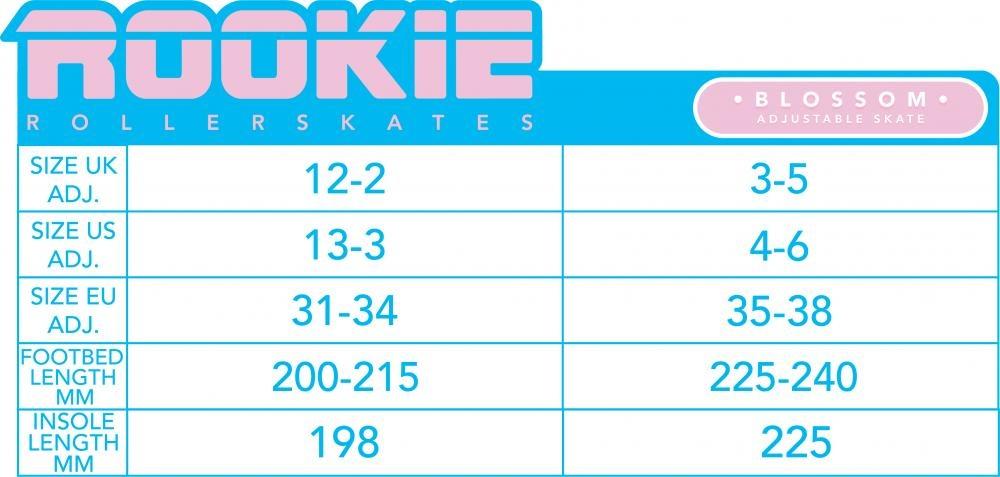 Rookie Rookie Verstelbare Rollerskate Blossom