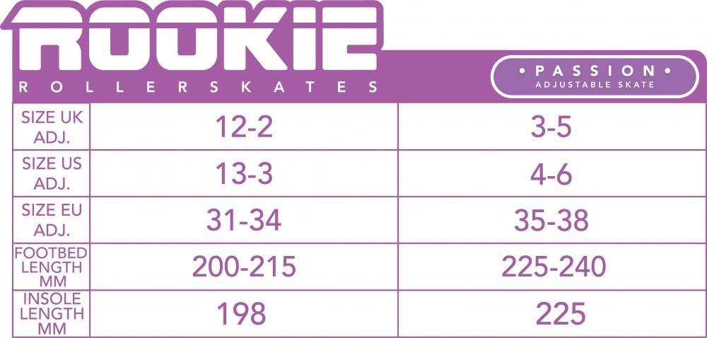 Rookie Rookie Verstelbare Rollerskate Passion