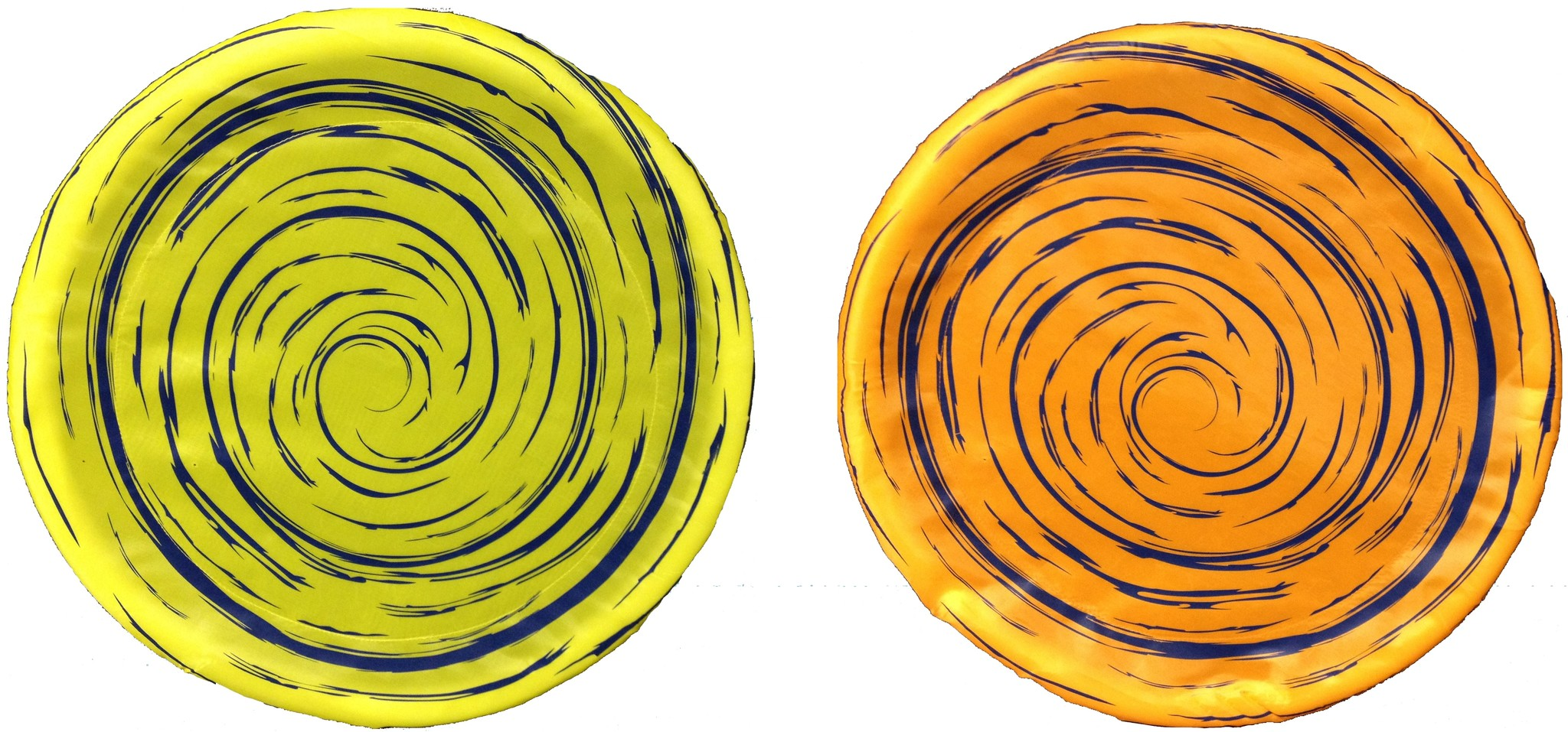 Werpschijf groot 40cm Foam ring nylon stof