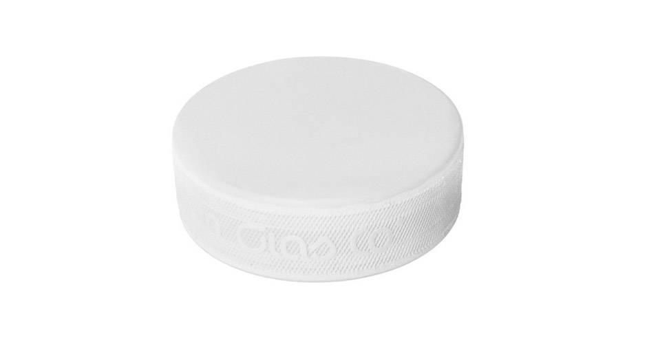 Bauer Puck Clean White