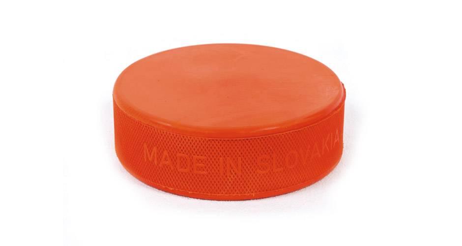 Bauer Puck Clean Orange