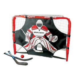 Bauer Deluxe Knee Hockey Goal Set