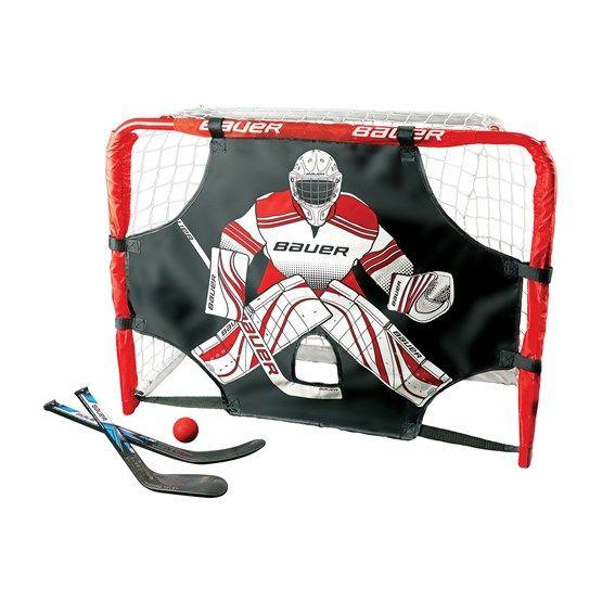 Bauer Deluxe Knee Hockey Goal Set
