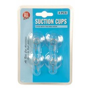 All Ride Suction cups 4 pieces with hook