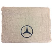 Handdoek Mercedes beige