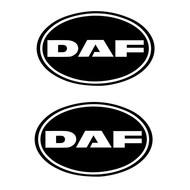 DAF sticker retro 2pcs outside