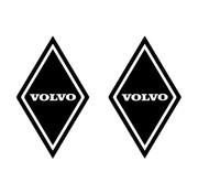 Sticker ruit Volvo 2st buitenplak